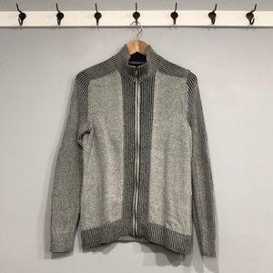 INC International Concepts Full Zip Sweater